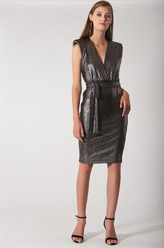 שמלת אוליביה ברונזה