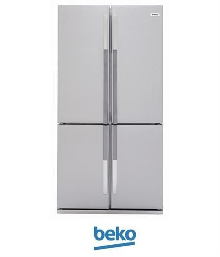 beko מקרר 4 דלתות 552 ליטר דגם GNE104611X