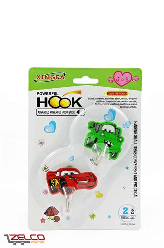 וו תליה צבעוני למגוון שימושים - מכוניות