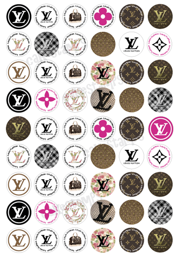 Louis Vuitton Transfer sheet