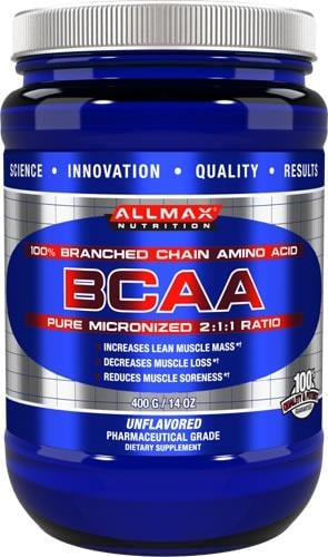 חומצות אמינו מסועפות BCAA של ALLMAX