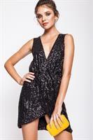 שמלת קורטני שחור