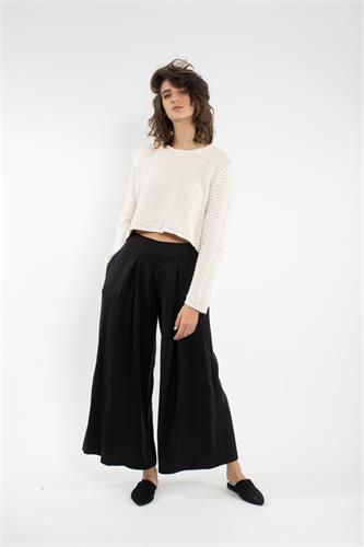 מכנס גול שחור