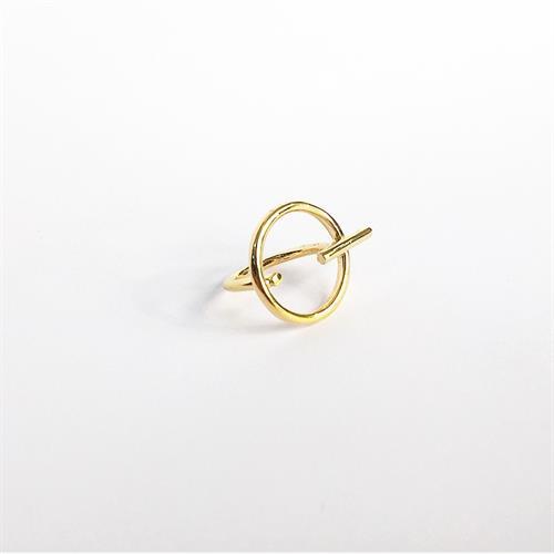 טבעת ריי זהב