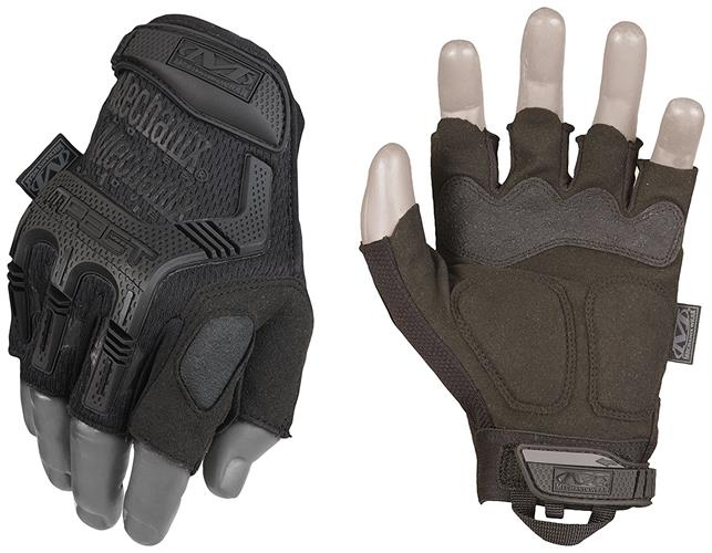 Mechanix M-PACT Black כפפות מכאניקס שחור קצר.