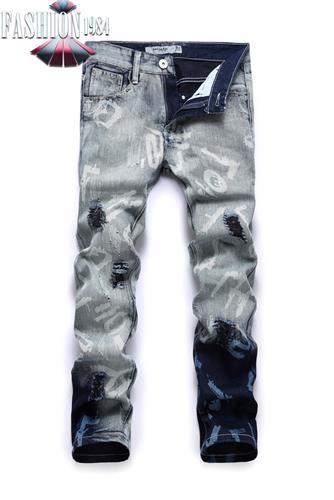 ג'ינס מעוצב דגם פסקל (צבע אפור)