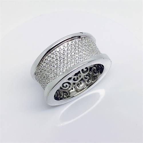 טבעת כסף איטלקית גברים נשים 925 MY021300085154