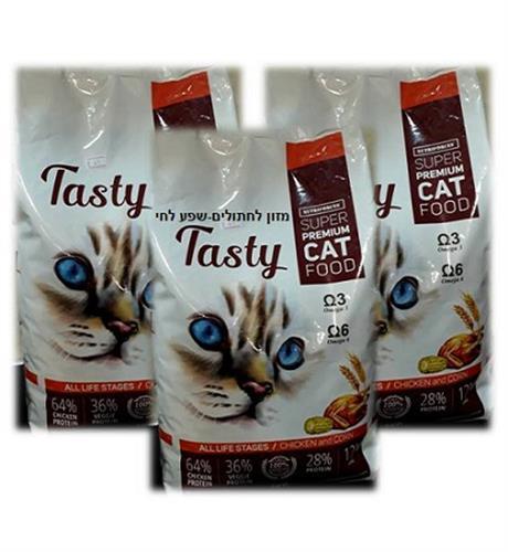 """טייסטי מזון לחתולים 9 ק""""ג במבצע"""