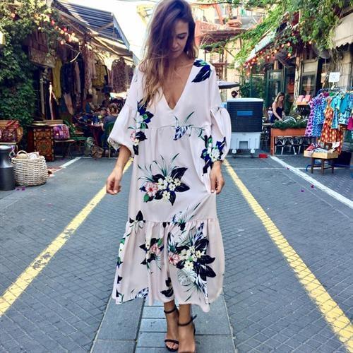 שמלת רייצ'ל פרחוני
