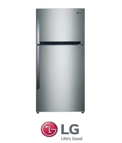LG מקרר מקפיא עליון דגם GR-M6480S נירוסטה