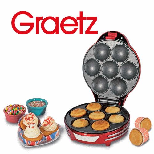 Graetz מכשיר להכנת מאפינס דגם: GR-488