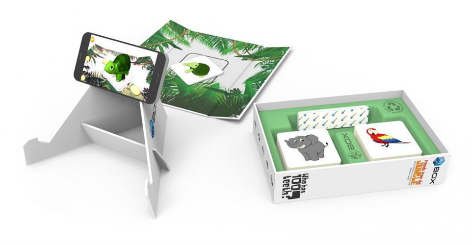 Bimbox - החברים מהג'ונגל - משחק זיכרון מעשיר ואינטראקטיבי