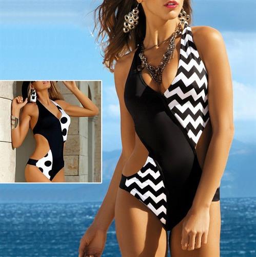 בגד ים מעוצב דגם פרנצ'סקה