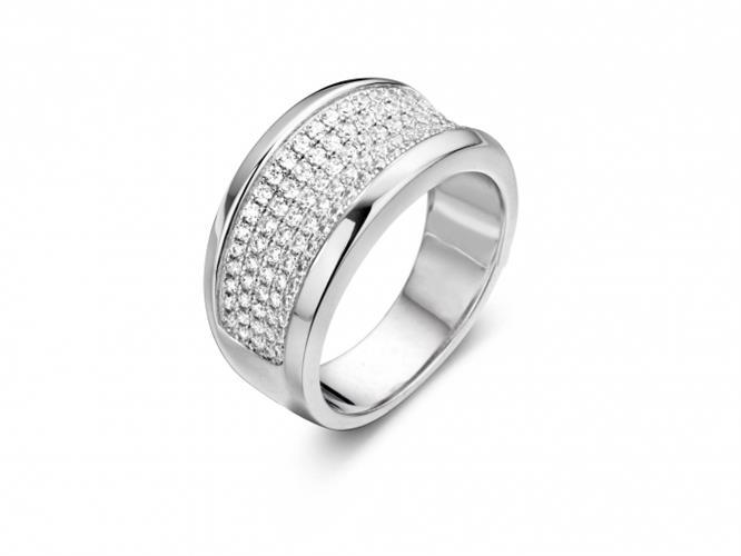 טבעת כסף 925 R6318-W