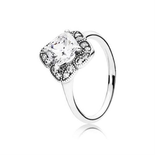 טבעת כסף פנדורה 190966CZ