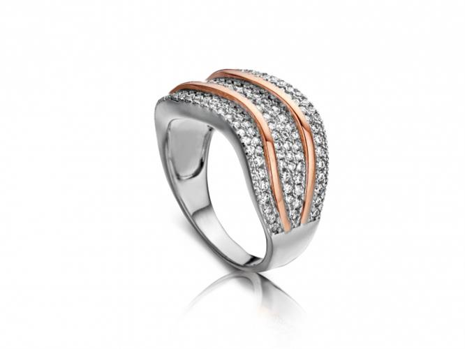 טבעת כסף 925 R6308-R