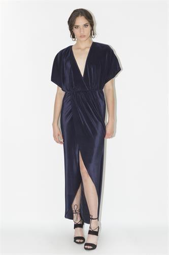 שמלת אלין כחולה