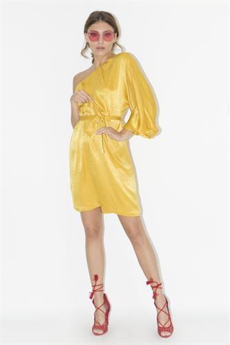 שמלת היידי חרדל