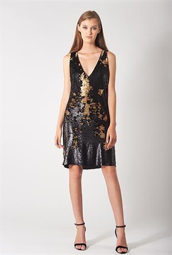 שמלת קארי שחורה