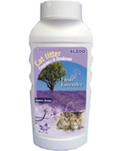 מרענן לחול חתולים בריח לבנדר 750 גרם (alzoo)