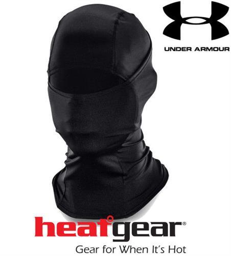 מסיכת פנים טקטית מנדפת זיעה אנדר ארמור 1257995 UA HeatGear Tactical Balaclava