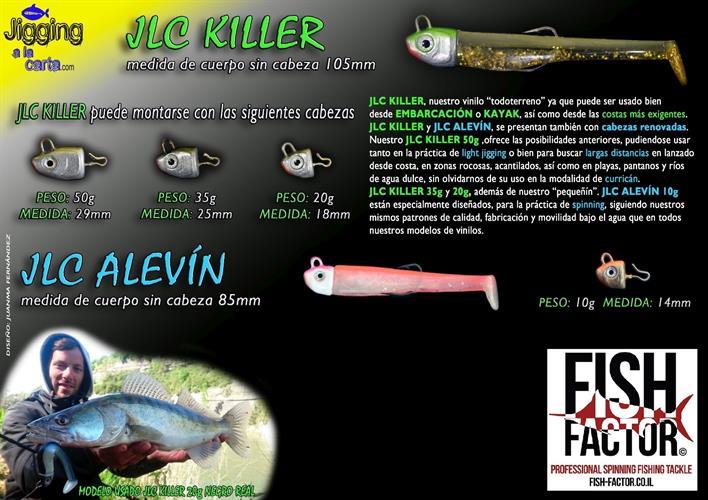 JLC - KILLER 20g 35g 50g