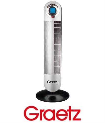 Graetz  מאוורר מגדל חכם + שלט דגם GRT-474