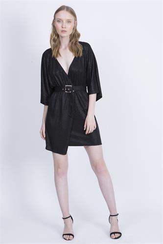 שמלת מייגן שחורה