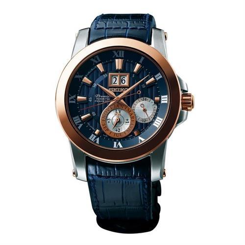 שעון יד אנלוגי סייקו גברים SEIKO PREMIER SNP126P1