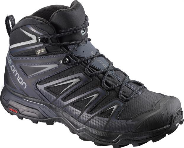 נעלי טיולים סלומון X ULTRA MID 3-GTX BLACK