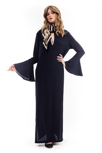 שמלת מנואל כחולה