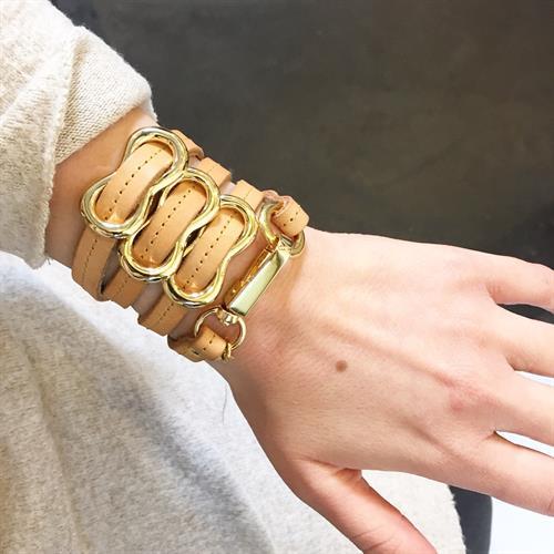 צמיד שמיניה ניוד תפר זהב