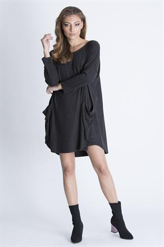 שמלת גארד אפור כהה