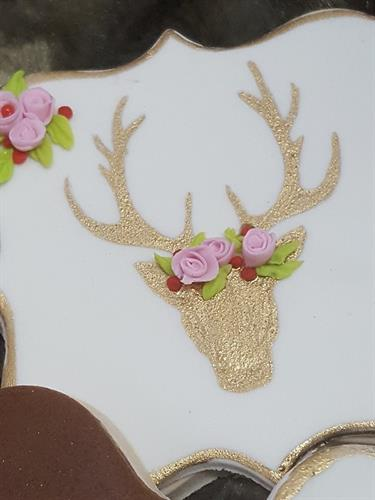 Deer head - front- new stamp
