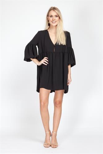 שמלת לינדה שחור