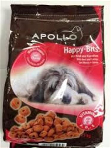 """אפולו חטיף רך לכלבים בקר וגזר 1.5 ק""""ג"""