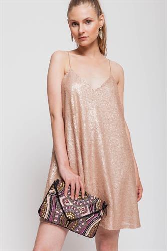 שמלת פארי ורוד