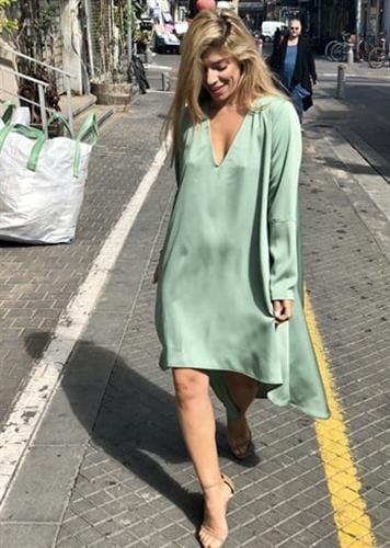 שמלת סלינה ירוק