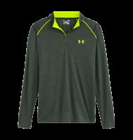 חולצה שרוול ארוך עם רוחסן לגבר אנדר ארמור 1242220-308 Under Armour men's long sleeve shirt ¼ Zip