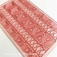 Ethnic texture mat