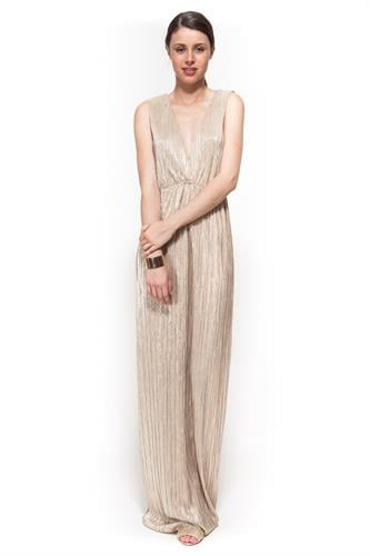 שמלת אמילי זהב