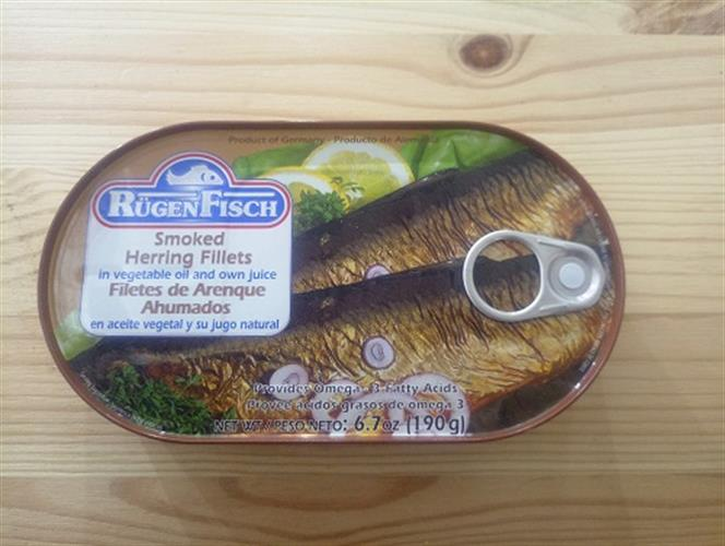 פילה דג הרינג מעושן