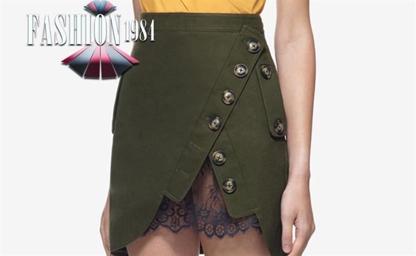 חצאית מעוצבת דגם אנטונייטה