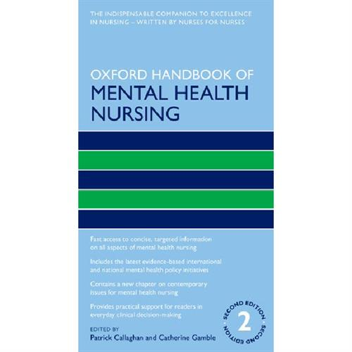 Oxford Handbook of Mental Health Nursin