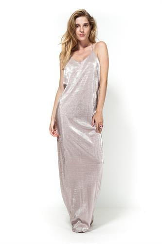 שמלת אוסקר גלאם ורוד לורקס