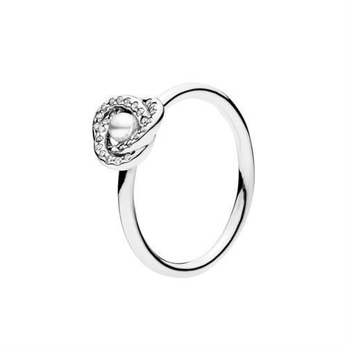 טבעת קשר אהבה בוהק 191040WCP