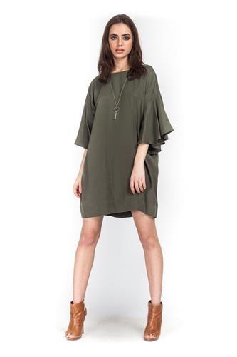 שמלת ליליאנה ירוק
