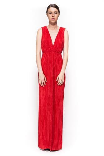 שמלת אמילי אדום