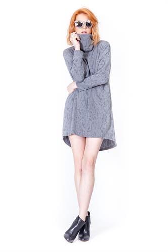 שמלת ג'סי אפורה