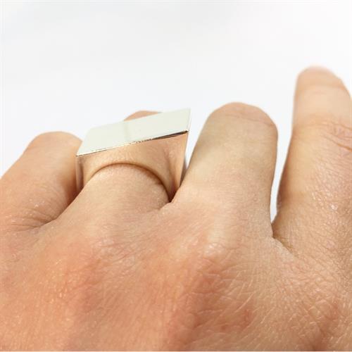 טבעת הנרי כסף